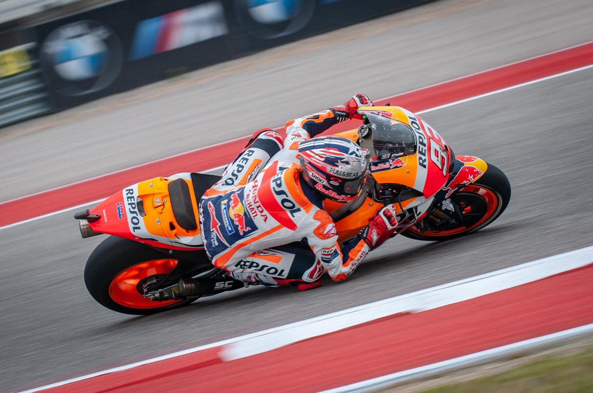 Marquez Continues Qualifying Streak at the Americas GP*